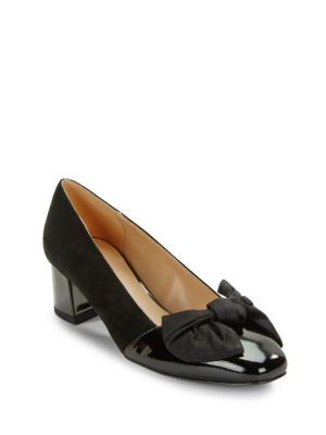 Julia Cap Toe Pumps by IMNYC Isaac Mizrahi