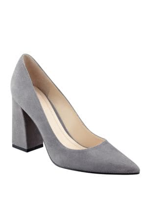 Jenny Suede Pumps by Marc Fisher LTD