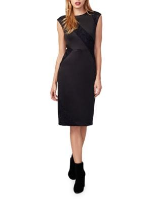 Lace-Accented Sheath Dress by RACHEL Rachel Roy
