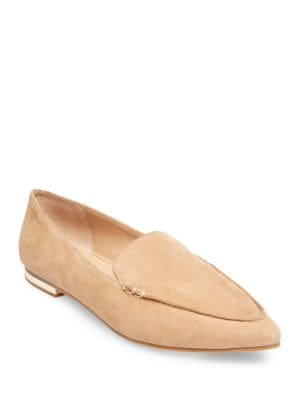 Fausto Kid Suede Slip-On Flats by Steve Madden