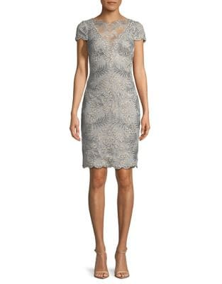 Scalloped Lace Dress by Lauren Ralph Lauren