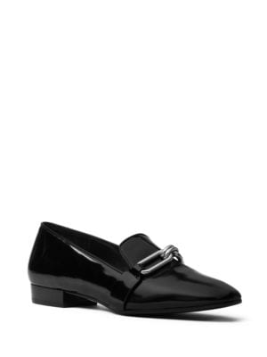 Lennox Patent Leather Loafers by Michael Kors Collection