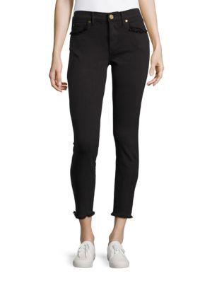 Halle Super Skinny Cropped Jeans 500045095684