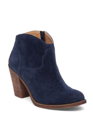 Eller Western Leather Booties by Lucky Brand