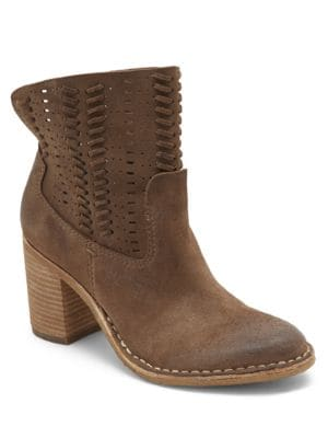 Landon Suede Booties by Dolce Vita