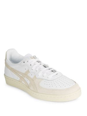 D6H1L Unisex Leather Lace-Up Sneakers by Asics