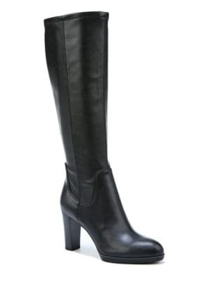 Buy Ilana Stacked Heel Boots by Franco Sarto online