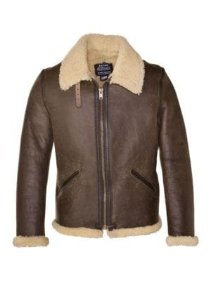Vintage Sheepskin B-6 Jacket by Schott Nyc