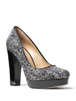 Tweed Platform Pumps by MICHAEL MICHAEL KORS