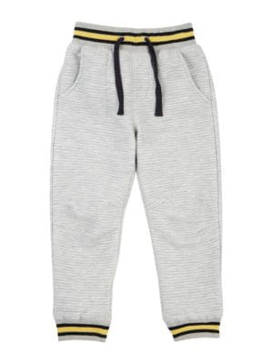 Little Boy's Ribbed Jogger...