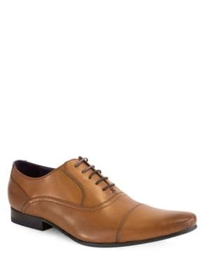 Rogrr Leather Oxfords by Ted Baker London