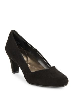 Salbie Suede Pumps by Easy Spirit
