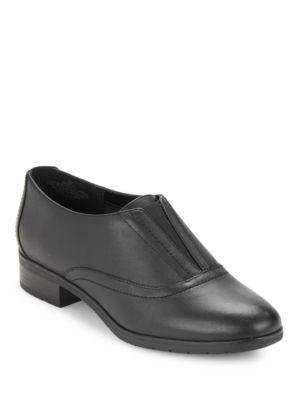 Buy Neota Leather Slip-On Oxfords by Easy Spirit online
