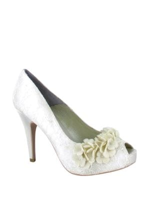 Rea Lace Pumps by Menbur