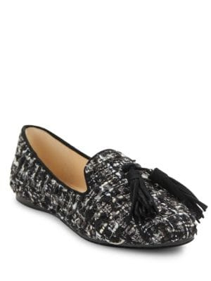 Tilda 2 Tweed Loafers by Karl Lagerfeld Paris
