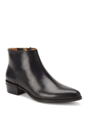 Leather Ankle Boots by COACH