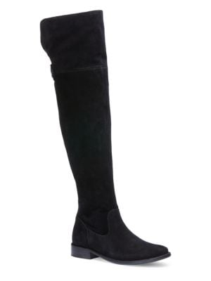 Shirley Suede Over-the-Knee Boots by Frye