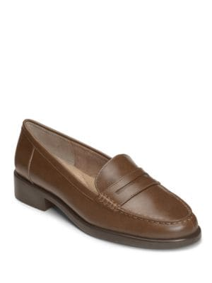 Main Dish Leather Penny Loafers by Aerosoles