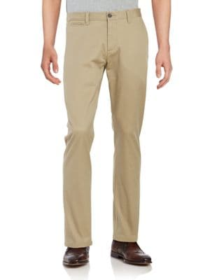 Tapered-Leg Chino Pants by Dockers Premium Edition