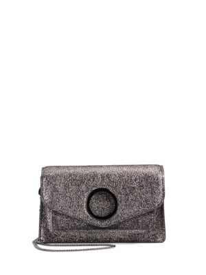Metallic Leather Crossbody by Halston Heritage