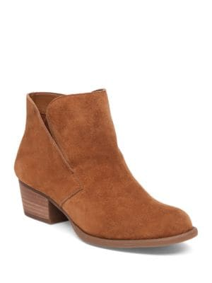 Dacine Suede Ankle Boots by Jessica Simpson