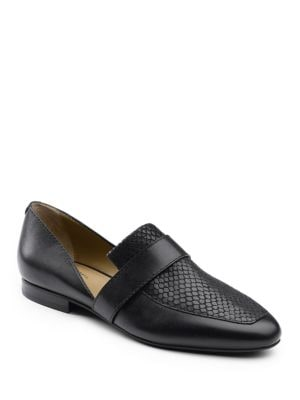 Hillary Leather D Orsay Slip-Ons by G.H. Bass