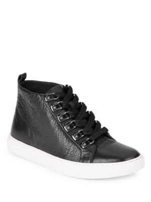 Kale Leather Hi-Top Sneakers by Kenneth Cole New York