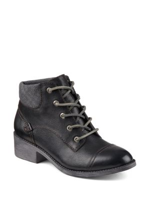Juniper Quay Leather Ankle Boots by Sperry