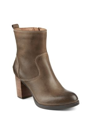 Dasher Grace Leather Ankle Boots by Sperry