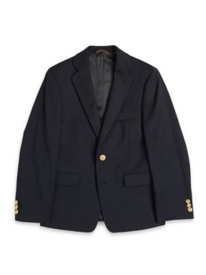 TwoButton Wool Blazer