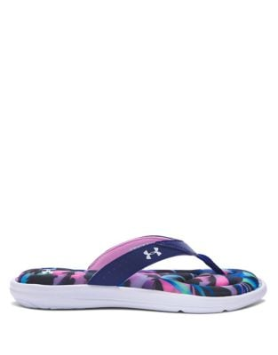 Marabella V T Printed Slip-On Sandals by Under Armour