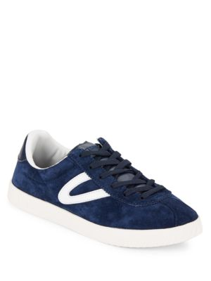 Buy Lace-Up Suede Sneakers by Tretorn online