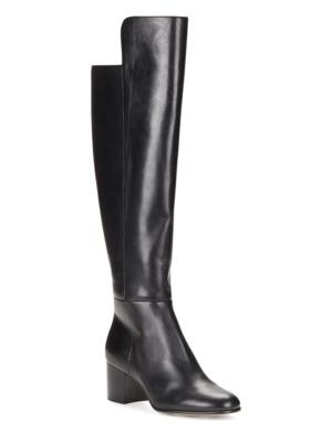 Buy Emyle Leather Over-the-Knee Boots by 424 Fifth online