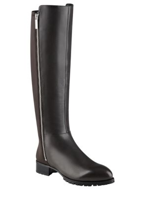 Legretto Leather Knee-High Boots by Nine West