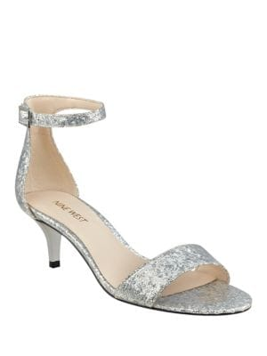 Leisa Glitter Sandals by Nine West