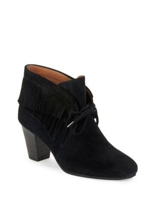 Bettie Suede Booties by Gentle Souls