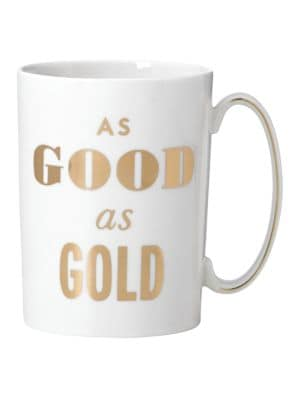 Simply Spark As Good As Gold Mug