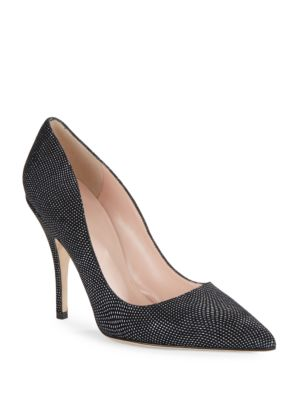Licorice Pointed Toe High Heels by Kate Spade New York