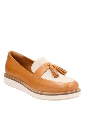 Glick Castine Leather Loafers by Clarks