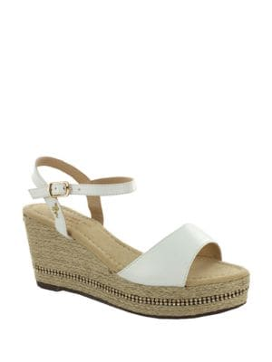 Karen Espadrille Platform Wedge Sandals by Menbur
