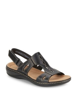 Leisa Lakelyn Leather Fisherman Sandals by Clarks