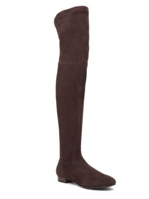 Suede Over-The-Knee Boots by Delman