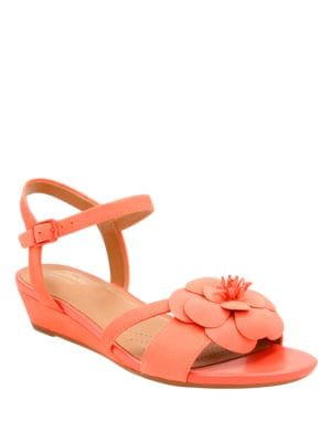 Parmstella Leather Slingback Sandals by Clarks