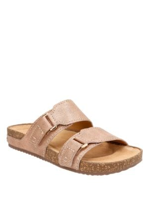Rosilla Tilton Double Strap Leather Sandals by Clarks