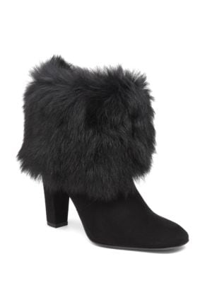 Fur Ankle Boots by Delman