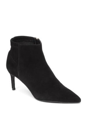 Point-Toe Ankle Boots by Delman