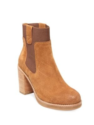 Jane Suede Booties by Design Lab Lord & Taylor