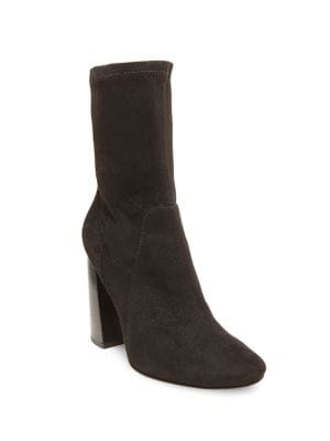 Maala Microsuede Ankle-Length Boots by Design Lab Lord & Taylor