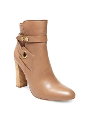 Shea Leather Ankle Boots by Design Lab Lord & Taylor