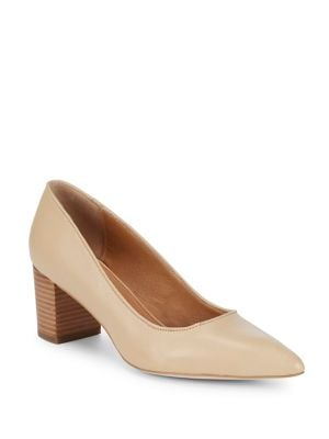 Regina Leather Pumps by Corso Como